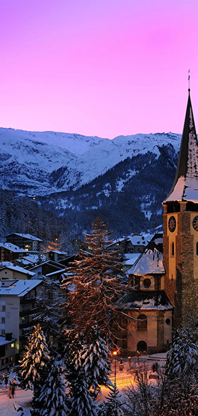 Πανόραμα Ελβετίας Χριστούγεννα
