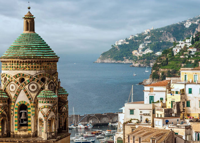 Εκδρομή στην Ιταλία, Αμάλφι