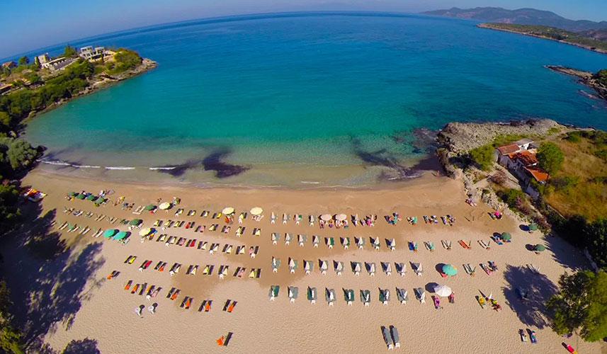 Παραλίες Μάνης - Στούπα