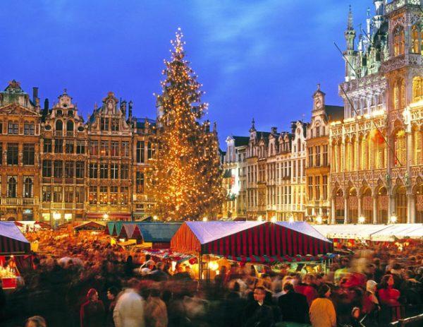 Χριστούγεννα στις Βρυξέλλες