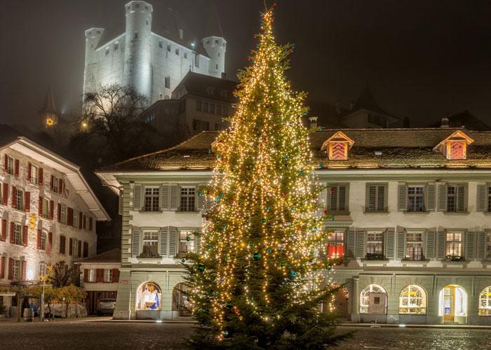 Ιντερλάκεν, Χριστούγεννα στις Άλπεις