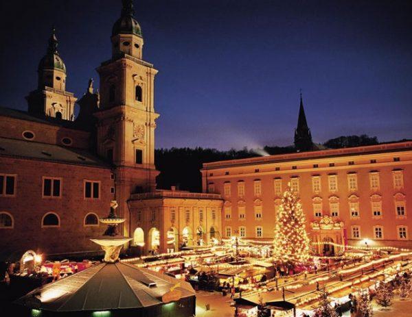 Χριστούγεννα στο Σάλτσμπουργκ